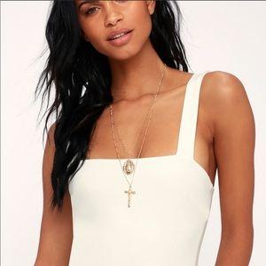 square neckline bodysuit